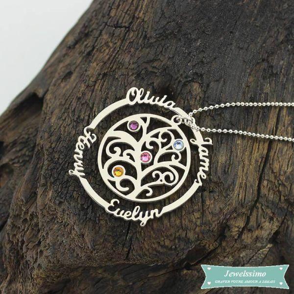 collier arbre de vie jewelssimo
