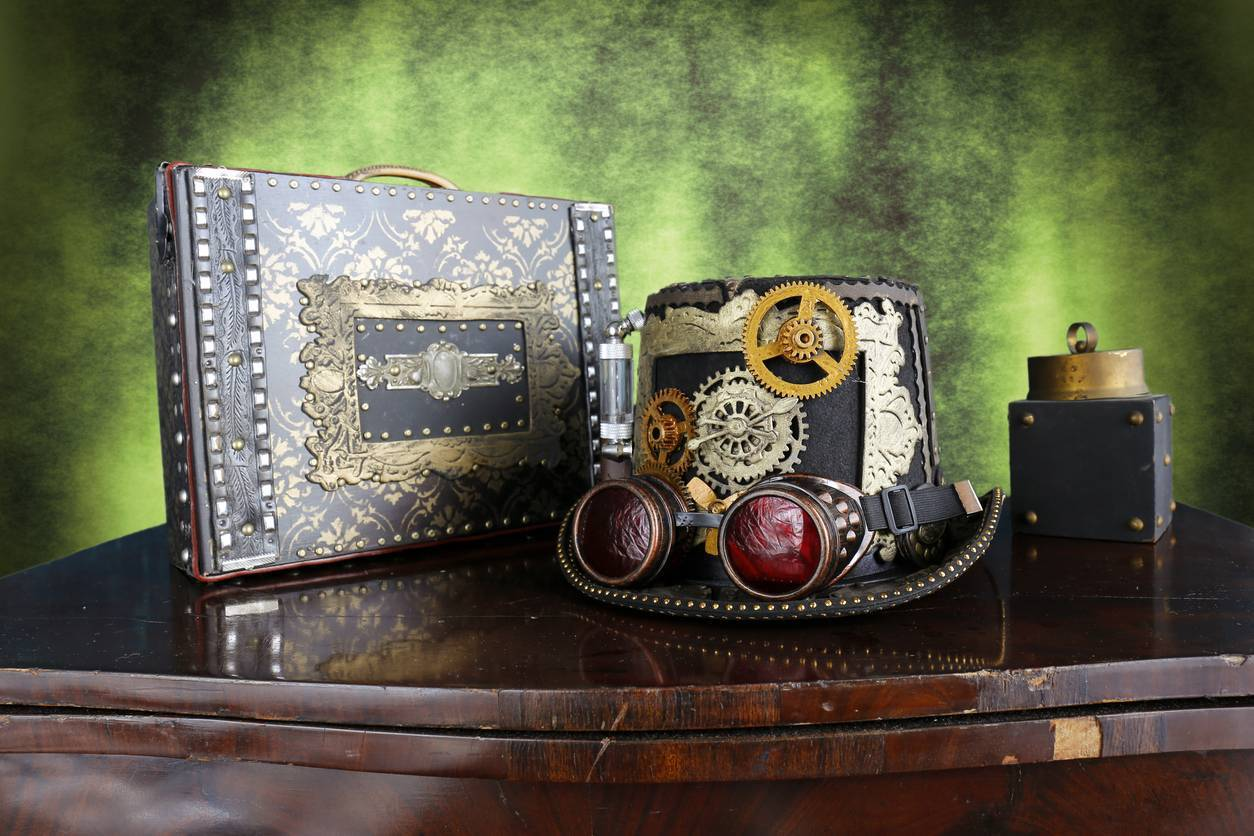 accessoires mode steampunk